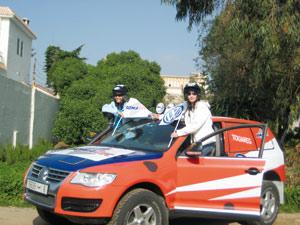 Rallye Aïcha des Gazelles : Un VW Touareg engagé par la CAC