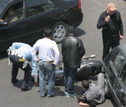Accidents : baisse des morts en 2005