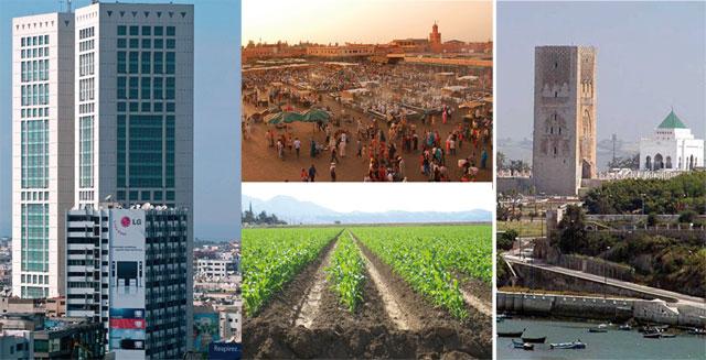 Maroc : 4 régions créent 50% du PIB