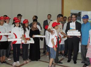 Tanger : Cérémonie de clôture des «Classes Ecol'Eau»
