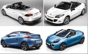 Renault Mégane CC et Wind : deux losanges dans le vent