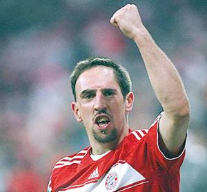 Le Bayern Munich sans Ribéry à Turin