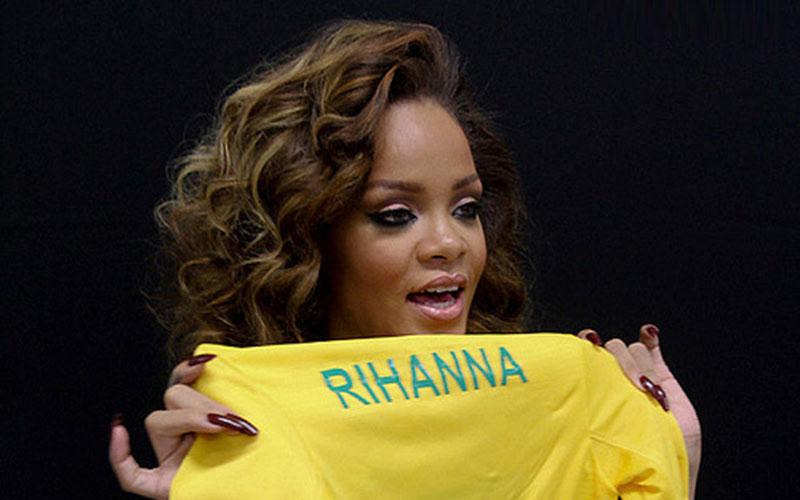 Coupe du monde 2014 : Rihanna, supportrice des Bleus