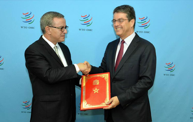 Le patron de l'OMC au Maroc les 8  et 9 avril