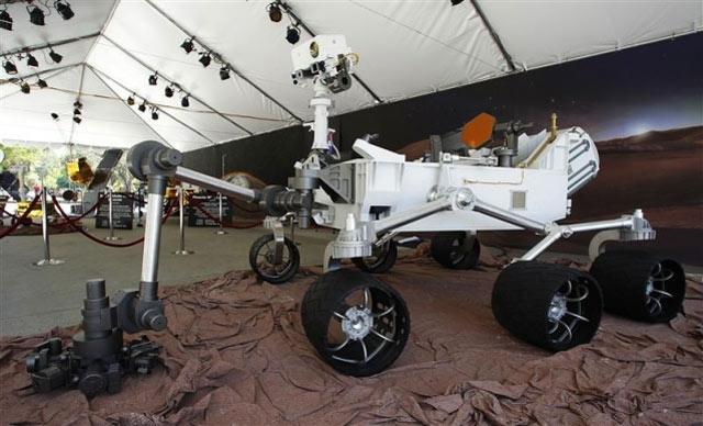 Le robot Curiosity s'est posé avec succès sur la planète Mars