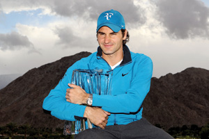 Roger Federer en cure de jouvence