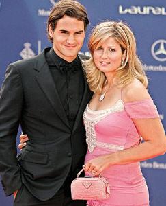 Le tennisman Roger Federer dit «oui» à Mirka