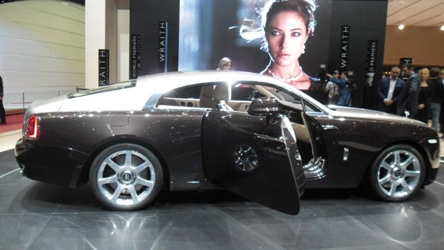 Rolls Royce : Le  nouveau coupé Wraith