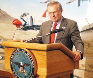 Rumsfeld au Maroc : l'OTAN au menu