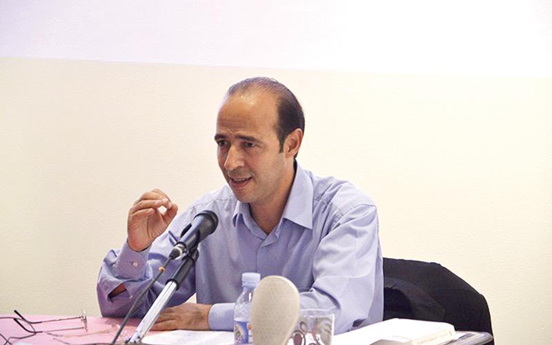 Rencontre avec Saad Belgnaoui  à la Villa des arts de Casablanca