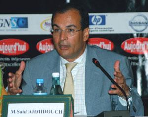 La Bourse choisit Saïd Ahmidouch