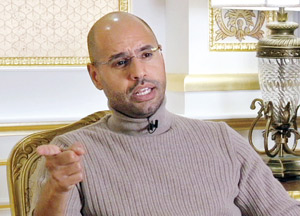 Selon Saif al-Islam Kadhafi : «Tripoli a financé la campagne de Sarkozy»