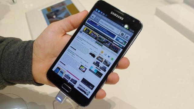 Déniché pour vous… Samsung Galaxy Note 2 : Un écran plus grand et une sortie en octobre
