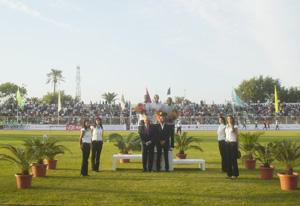 Les athlètes nationaux dominent les épreuves