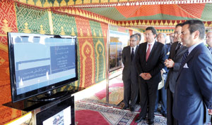 SAR le Prince Moulay Rachid inaugure l'autoroute Marrakech-Agadir