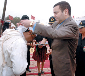 Remise du Trophée Hassan II