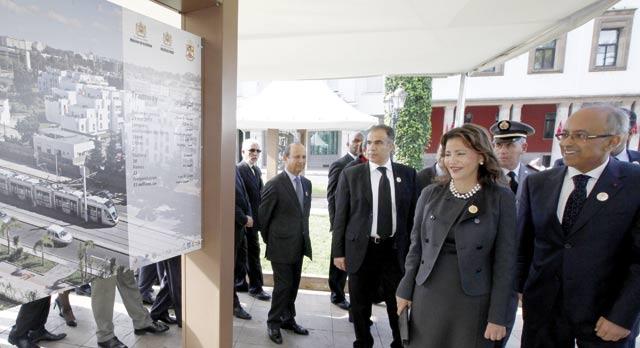 Rabat à l heure des festivités  célébrant son inscription au  Patrimoine mondial de l humanité