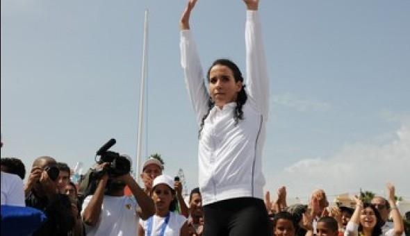 JO-2012 (200 m brasse/dames): La Marocaine Sara El Bekri qualifiée pour les demi-finales