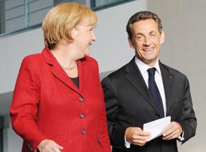 Sarkozy souhaite une convergence fiscale franco-allemande