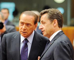 Le gouvernement italien réitère son soutien à Nicolas Sarkozy