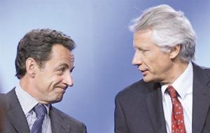 De Villepin devient opposant officiel à Sarkozy