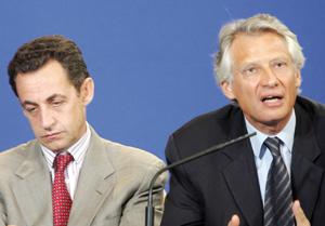 La difficile réconciliation entre Sarkozy et De Villepin