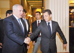 Sarkozy reçoit Netanyahou avant de s'entretenir avec Al Assad