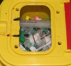 Ouled Abbou contre les déchets médicaux