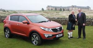 Kia Sportage : Élu voiture de l'année en Ecosse