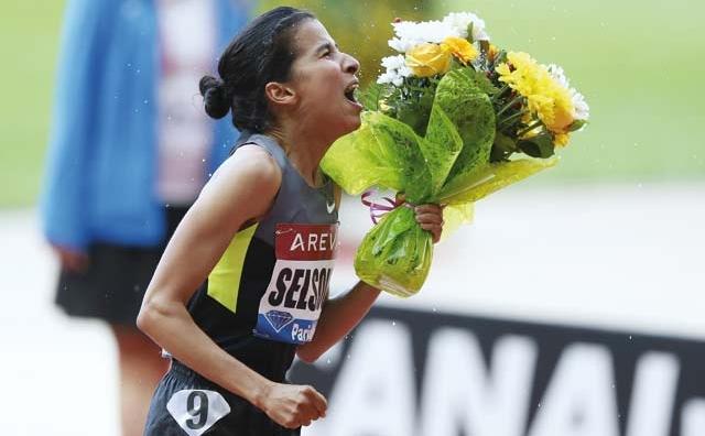 La Ligue de diamant d athlétisme (Étape de Paris) : Selsouli réalise la meilleure performance mondiale  de l année en 1500 m