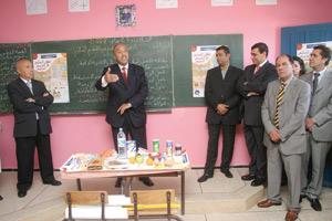 Lancement du programme de l'éducation nutritionnelle