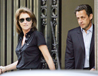 Séparation par consentement mutuel pour le couple Sarkozy