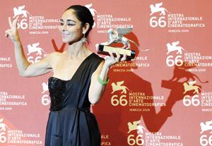 Shirin Neshat remporte le Lion d'argent
