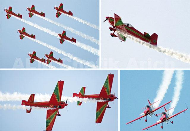 Fête du trône: Show aérien pour les Forces Royales Air