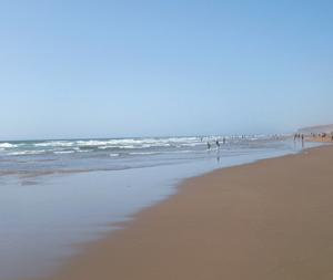 Plages du Maroc : Foum El Oued : La fraîcheur aux abords du Sahara