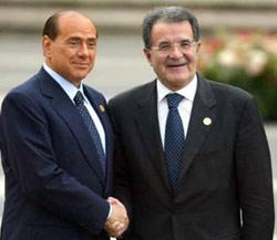 Italie : Berlusconi ou Prodi ?