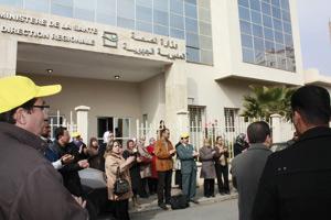 Oujda : Des infirmiers en sit-in