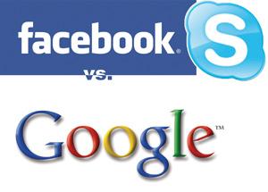 Facebook et Skype pourraient s'allier contre Google Call