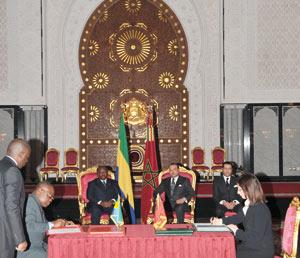 Le Maroc et le Gabon renforcent leur coopération bilatérale