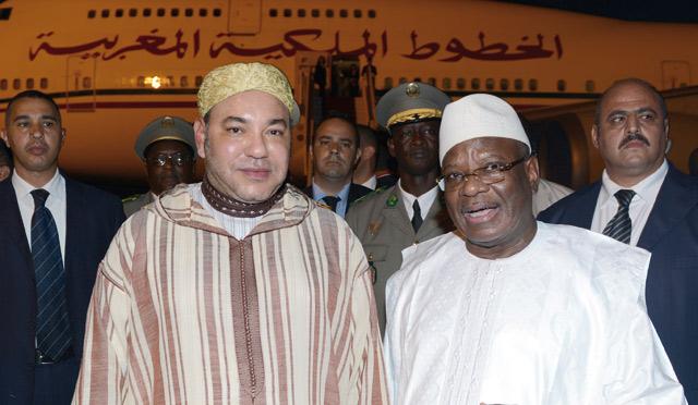 Le Roi confirme l'ancrage africain du Maroc