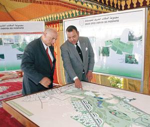 Activités royales : Lancement de projets de développement à Khouribga