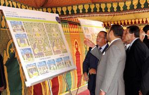 SM le Roi lance la construction de l'ENCG et de l'ENSA à Kénitra