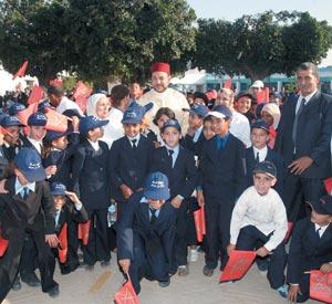 Activités royales : Coup d'envoi de la rentrée scolaire 2007-2008