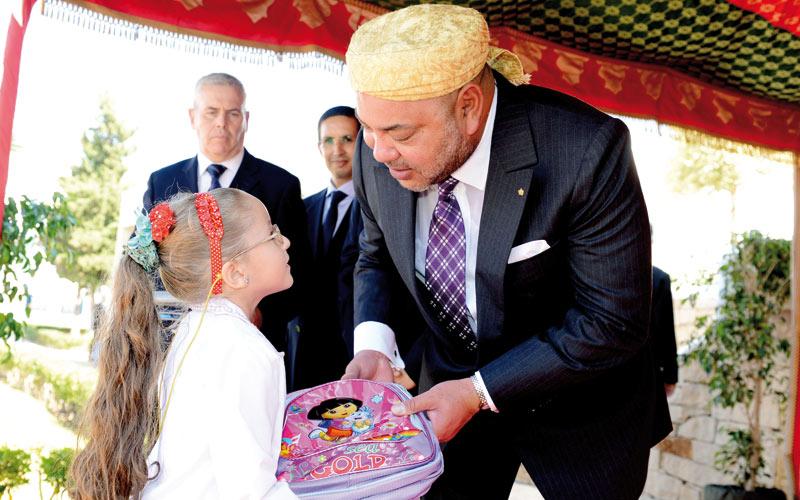 Opération «Un million de cartables»: 360 millions de dirhams et 4 millions  de bénéficiaires