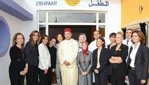 SM le Roi inaugure la Maison de l'enfant à Casablanca