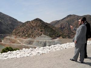 Activités royales : Inauguration d'un barrage dans la province d'Al Haouz