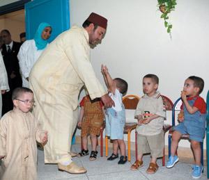 Activités royales : Un centre social des enfants à Fès