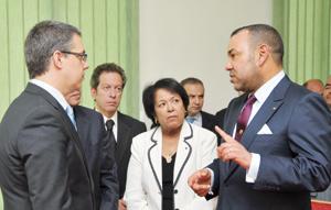 SM le Roi prend connaissance  de l'état d'avancement de projets structurants à Oujda