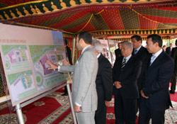 SM le Roi lance des projets à Agadir