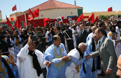 Le Sahara vote pour l'union